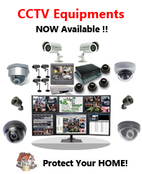 CCTV - Protect your home!